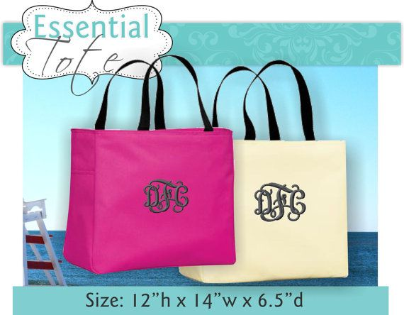 95f769bec1 10 Personalized Tote Bags for Women ,Bridesmaid Tote Bag with ...