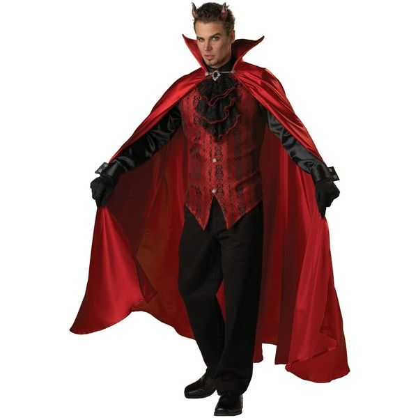 Devil Costumes For Men ❤ liked on Polyvore trick\u0027n treat - 2016 mens halloween costume ideas