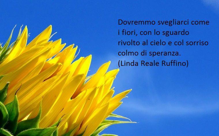 Scritta Da Linda Reale Ruffino Una Proposta Di Buongiorno