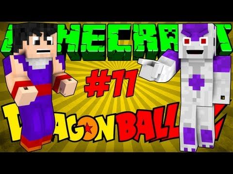 Minecraft Dragon Ball Z #11 - Gohan vs Freeza