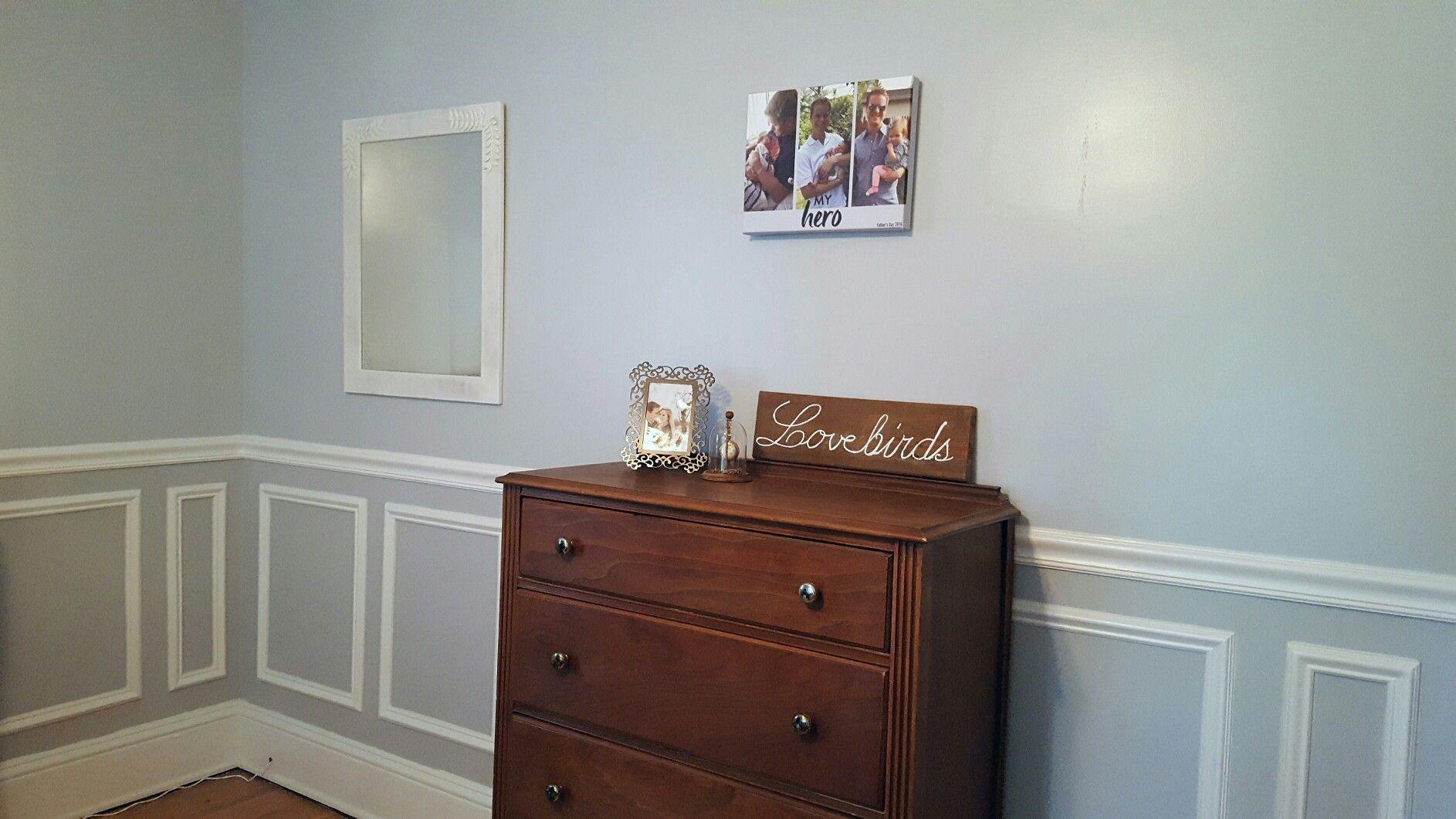 Valspar Silver Leaf And Gravity Blend Gray Bedroom Home Decor Dresser As Nightstand Gray Bedroom