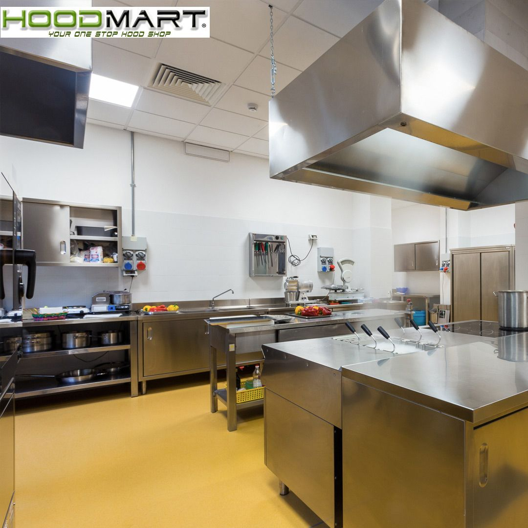 Hoodmart Com Manufactures Hoods To Work In All Commercial Kitchen Applications Including Makeup Air Hoo Kitchen Applicances Commercial Kitchen Kitchen Supplies