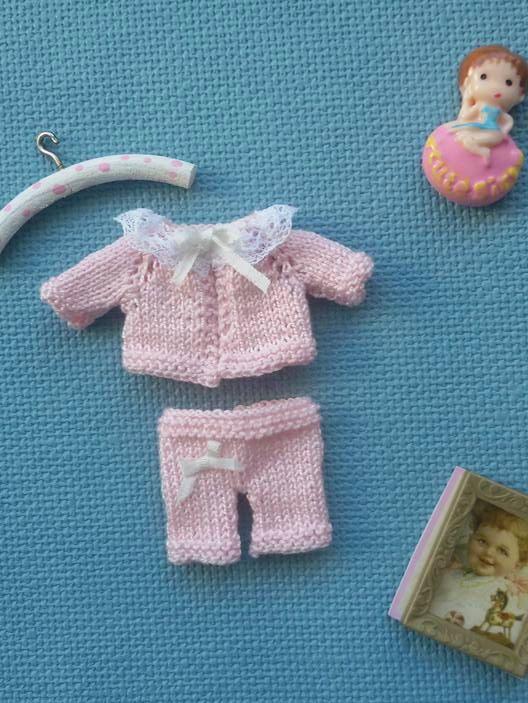 Set of jacket and pants miniatures | Kledij 1:12 | Pinterest ...