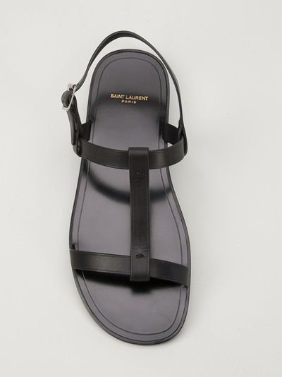 Saint Laurent Slush Sandal Men S Sandals Mens Fashion