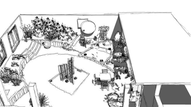 COURTYARD 001 - 3D Warehouse