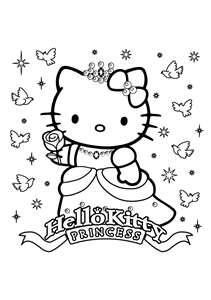 Pin By Marya Keeny On Digi S Hello Kitty Colouring Pages Kitty Coloring Hello Kitty Coloring