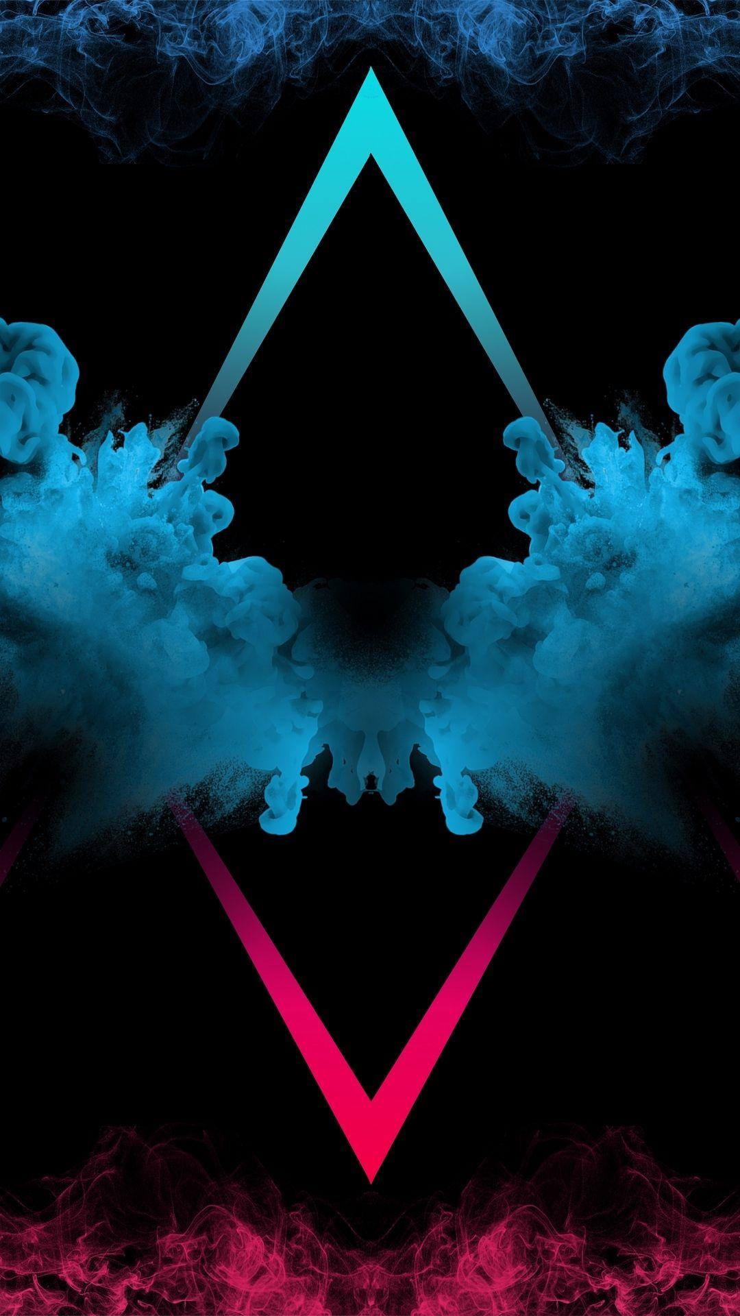 Black Smoke Wallpaper In 2020 Smoke Wallpaper Poster Background Design Neon Wallpaper