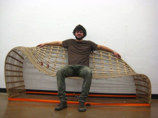 Design Ledersofa Loveseat von David Batho vereint Komfort mit - design ledersofa david batho komfort asthetik