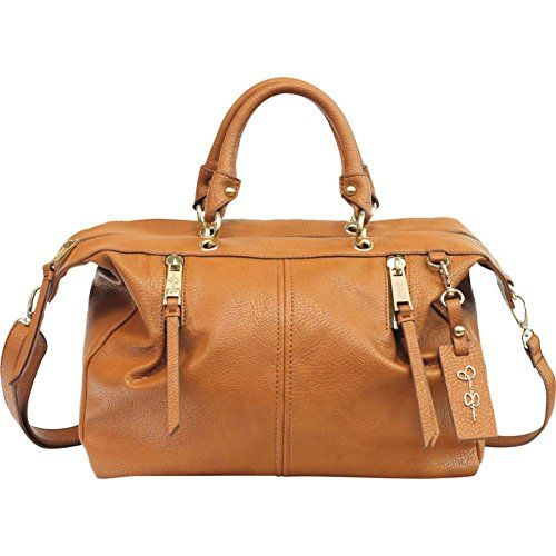 Jessica Simpson Abbey Satchel Handbag Safari