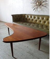 Kidney Shaped Coffee Table Always Wanted One Of These Mid