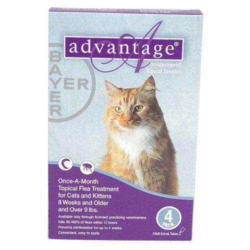 27 99 45 99 Advantage Flea Control For Cats Kills Fleas Within