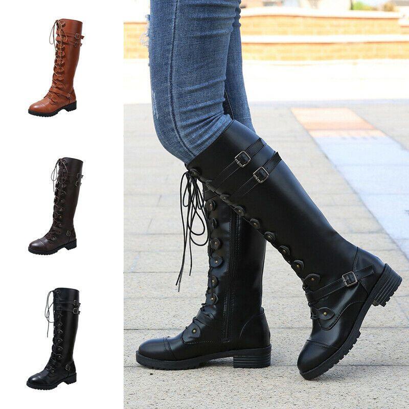 Damen Stiefel Damen Außen Winter Freizeit Modisch Stiefel
