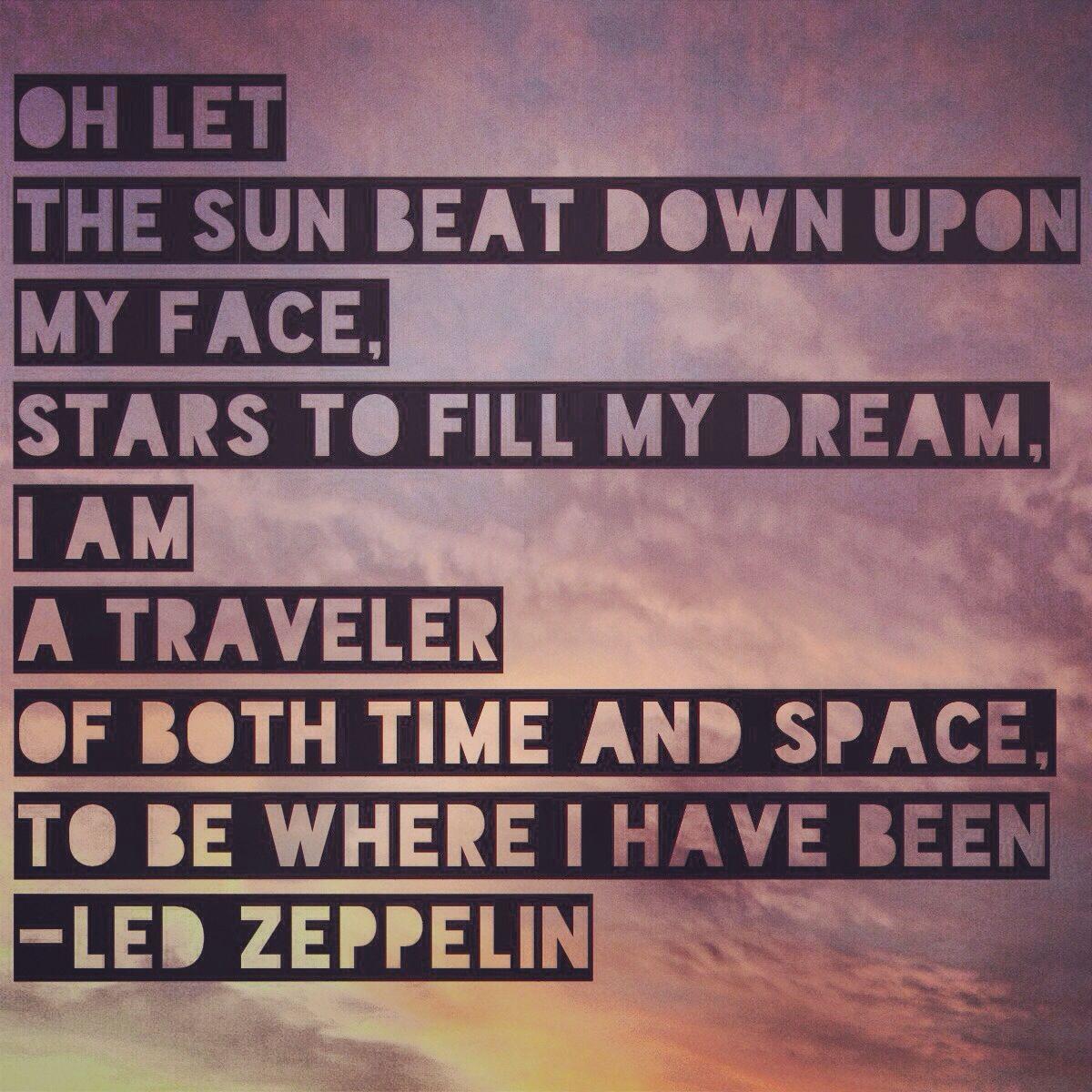 Led Zeppelin Lyrics For Kashmir With Images Led Zeppelin