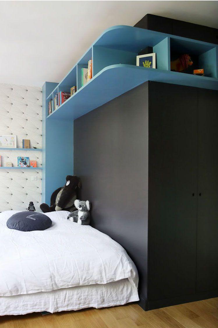 Ranger jouets, livres dans chambre enfant, bébé   Rangement chambre, Etagere chambre, Chambre enfant