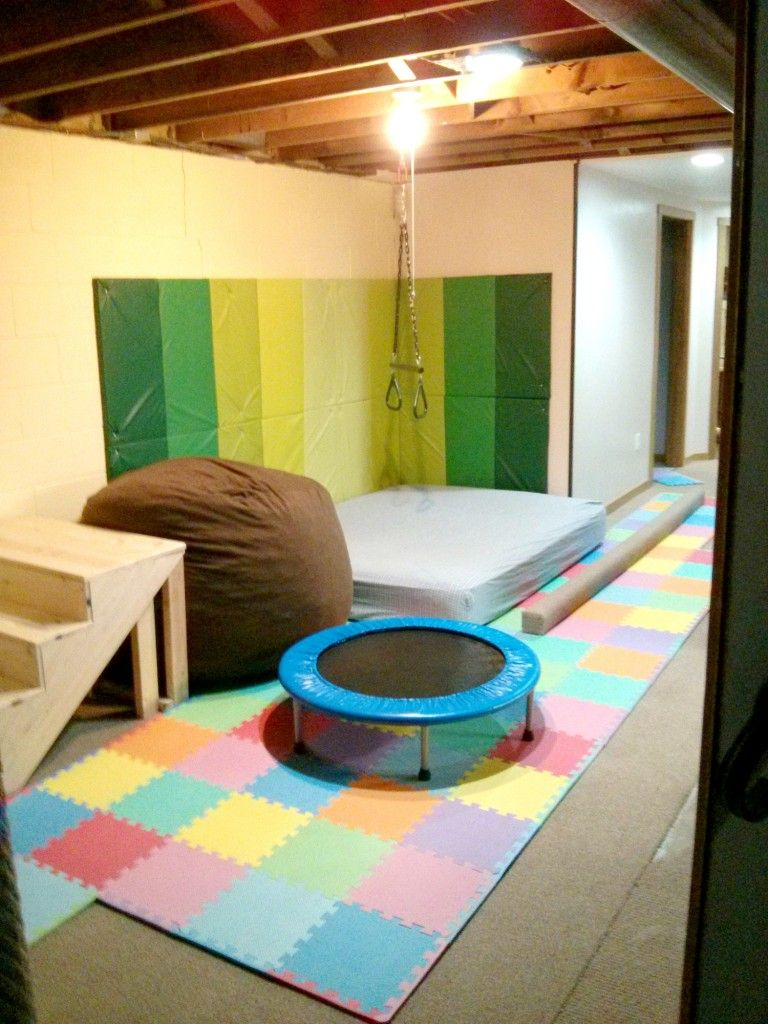 Sensory Integration Room Design: Creating A Home Sensory And Motor Room (With Images