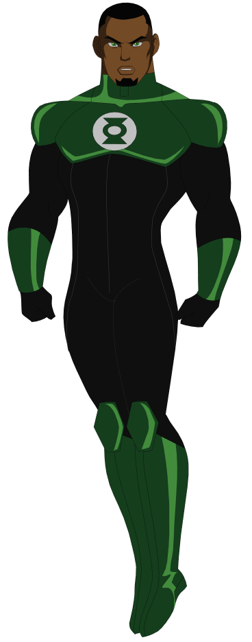 If You Re A Dc Fan Like Me Then You Probably Love All The Dc Characters Most Iconic Costumes And Green Lantern John Stewart Green Lantern Black Green Lantern
