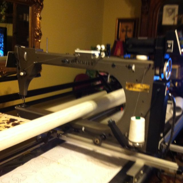 My Gammill Optimum Plus Long-arm quilting machine. | Products I ... : gammill long arm quilting machine - Adamdwight.com