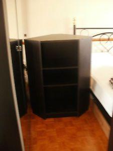 Best Ikea Billy Corner Cupboard Unit Black Brown Inspiration 640 x 480