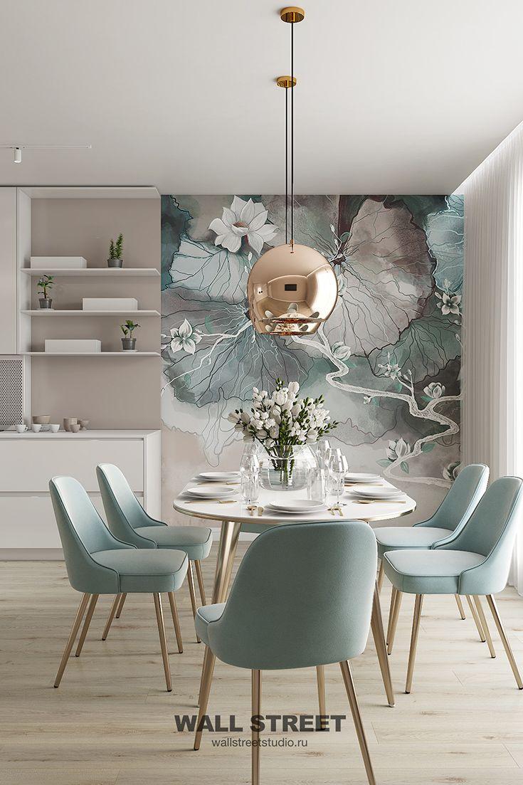 Photo of Фотообои с цветами на кухне LA PRIMA • Идеи • Дом • Ремонт •