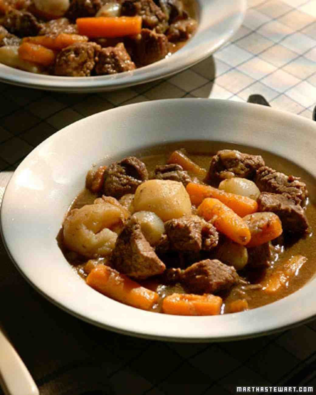 Old Fashioned Beef Stew Recipe Beef Stew Recipe Old Fashioned Beef Stew Martha Stewart Beef Stew