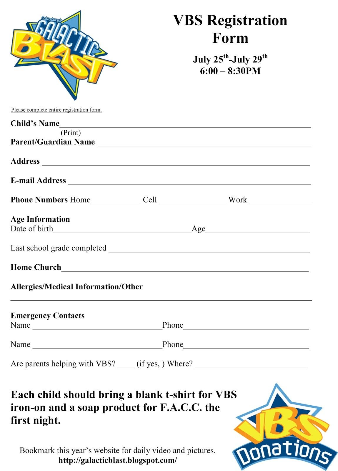 Vbs Lesson Plan Template Learn All About Vbs Lesson Plan Template From This Politician Lesson Plan Templates Registration Form Online Registration Form
