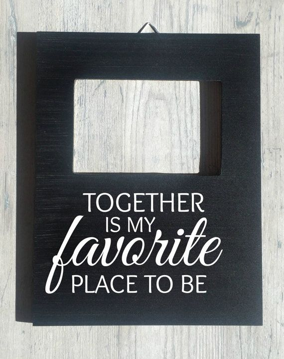 Custom Quote Picture Frame Boyfriend Girlfriend Photo Gift