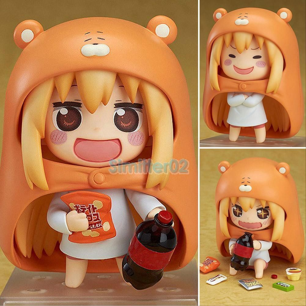 "UmaruChan Doma Umaru 10Cm/4"" Nendoroid Pvc Figure 524 In"
