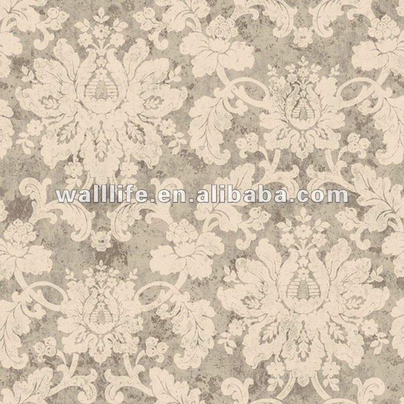 Papel tapiz lavable vintage papel pintado llanura papel pintado le0107 - Papeles pintados lavables ...