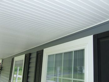 Vinyl Beadboard Soffit for Porch Ceilings | Porch ceiling ...