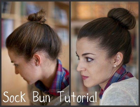 The sock bun is back!