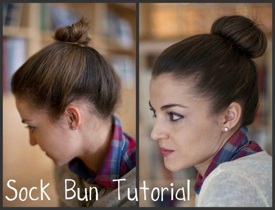 Hello Framboise Bun Tutorial Short Thin Hair Hairstyles For Thin Hair