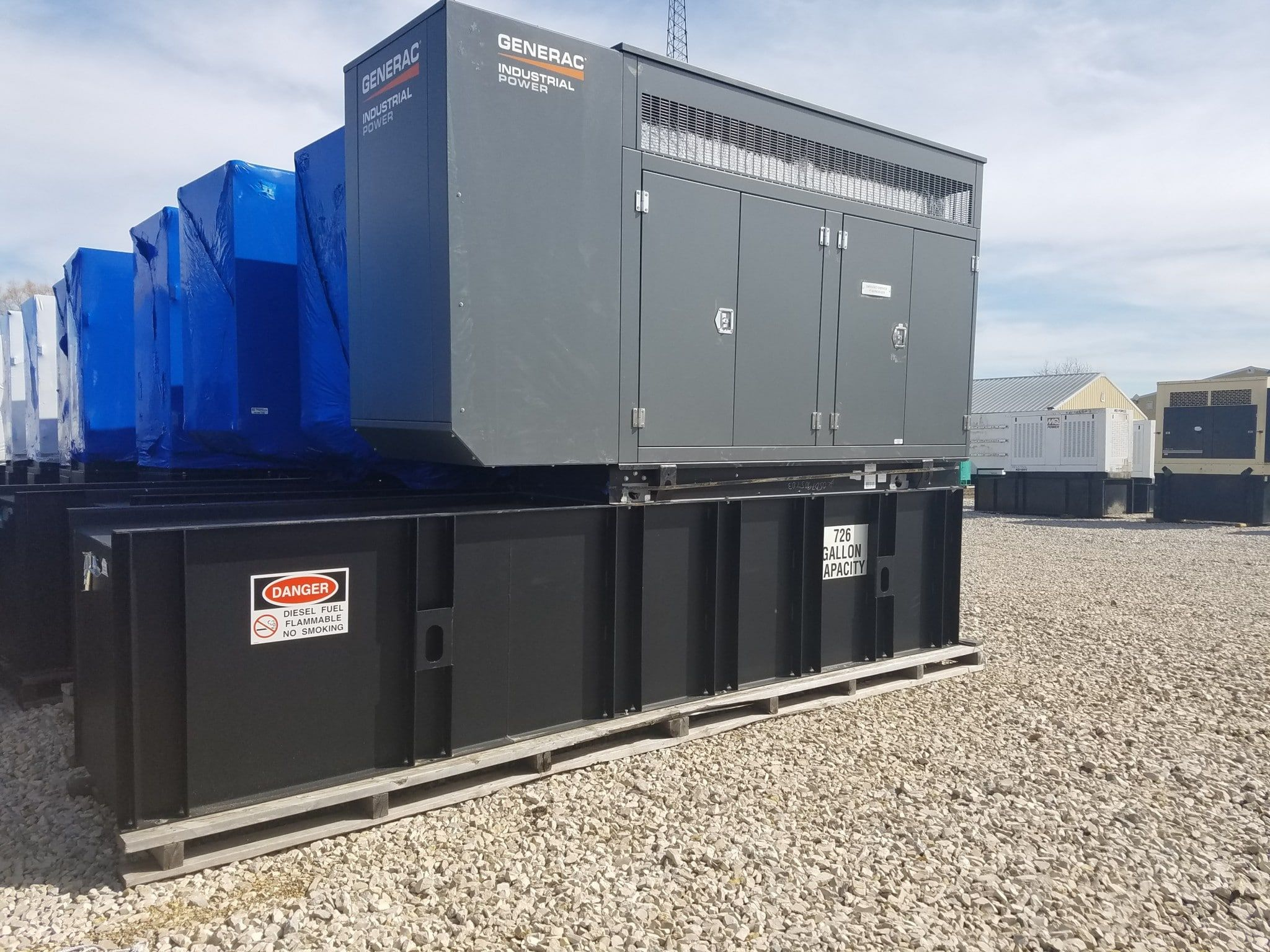 100 Kw Generac Diesel Generators 9 Units Available Going Fast Unit 54131007 Manufacturer Generac Fuel Type Di Diesel Generators Generation The Unit
