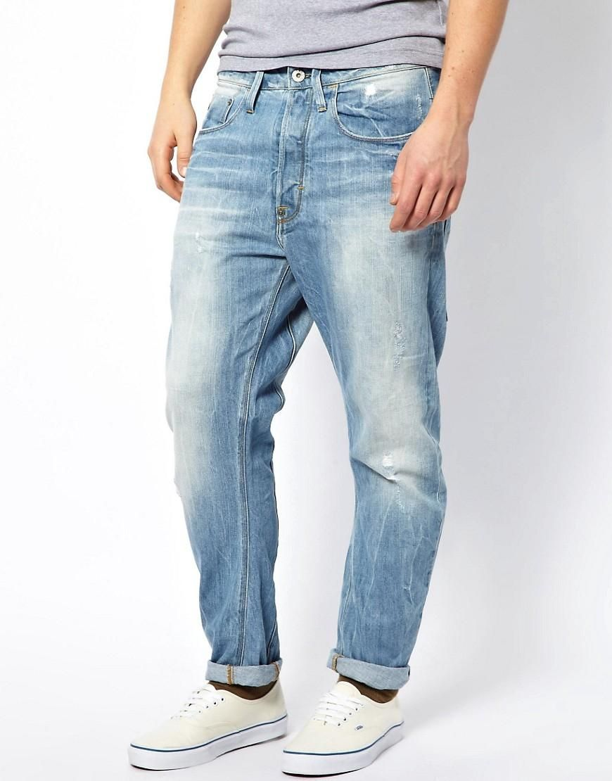 G Star | G Star Jeans Type C 3D Loose Tapered Light Aged