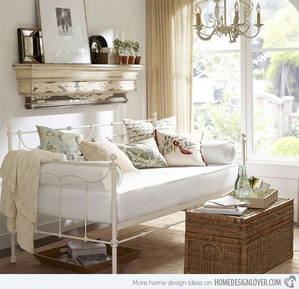 15 Daybed Designs Perfect for Seating and Lounging | Daybed, Lovers ...