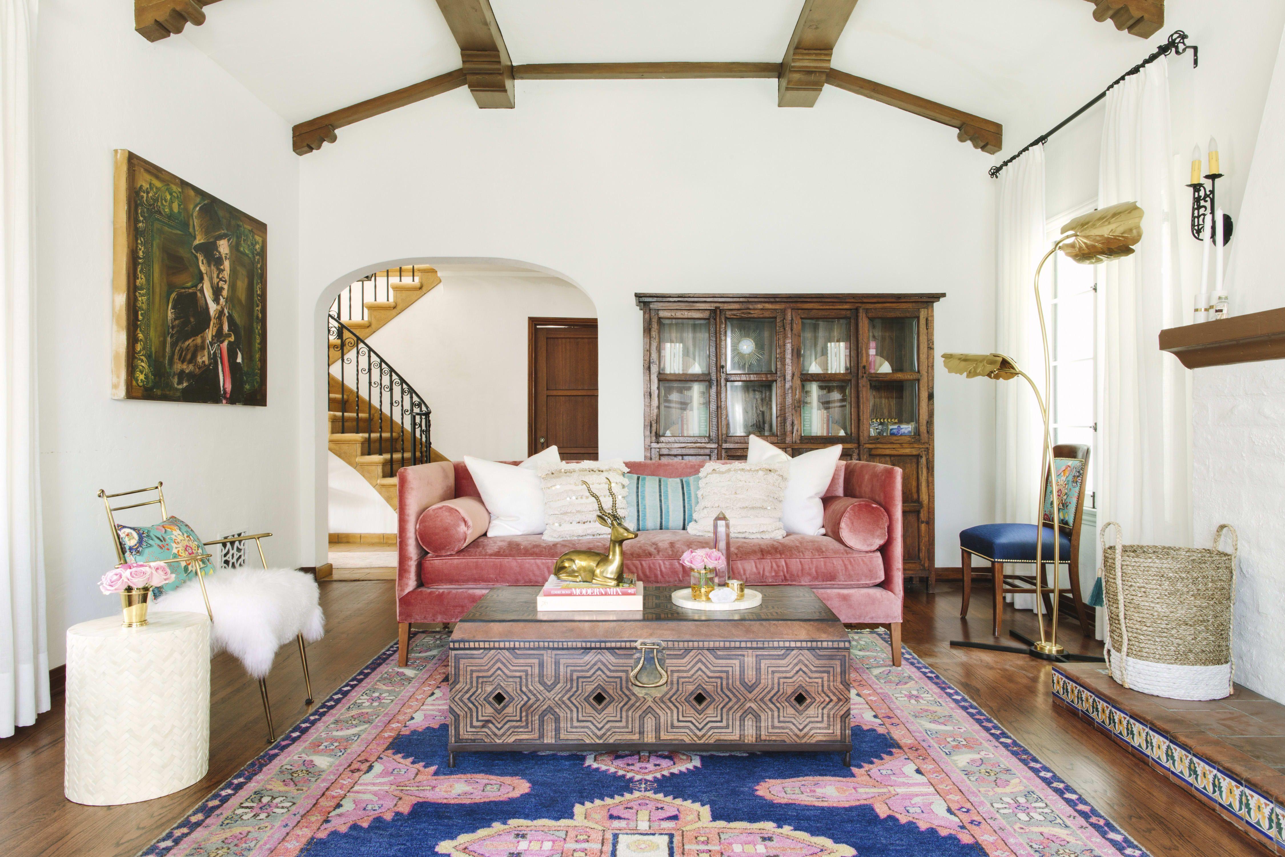 Glamour Nest Design Spanish Inspired California Home Tour Diy Living Room Decor Best Living Room Design Small Living Room Design