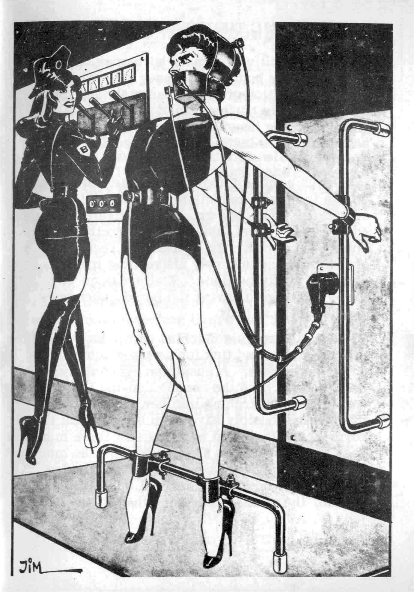 Bondage fetish slave