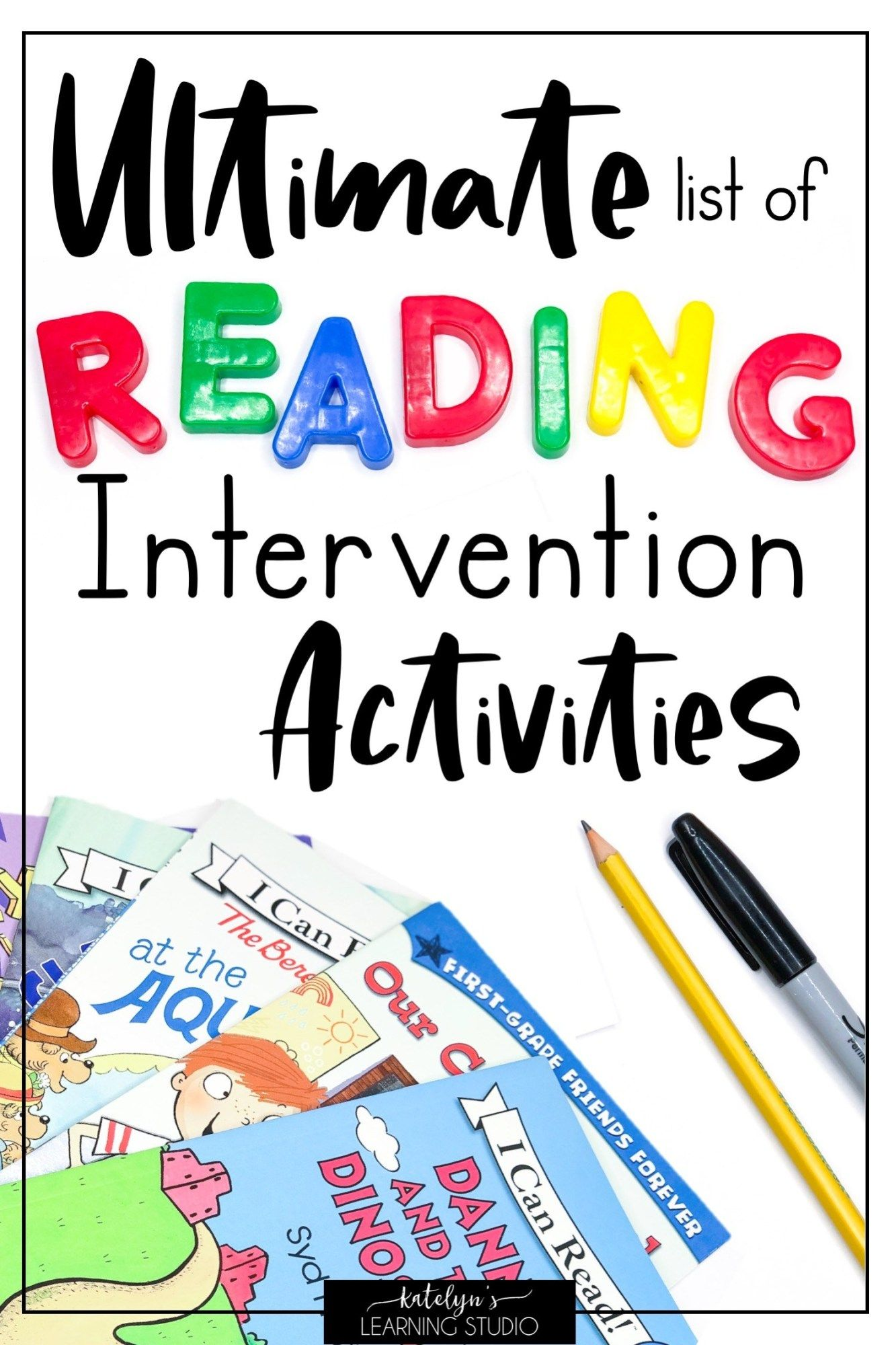 Reading Intervention Activities For Struggling Readers