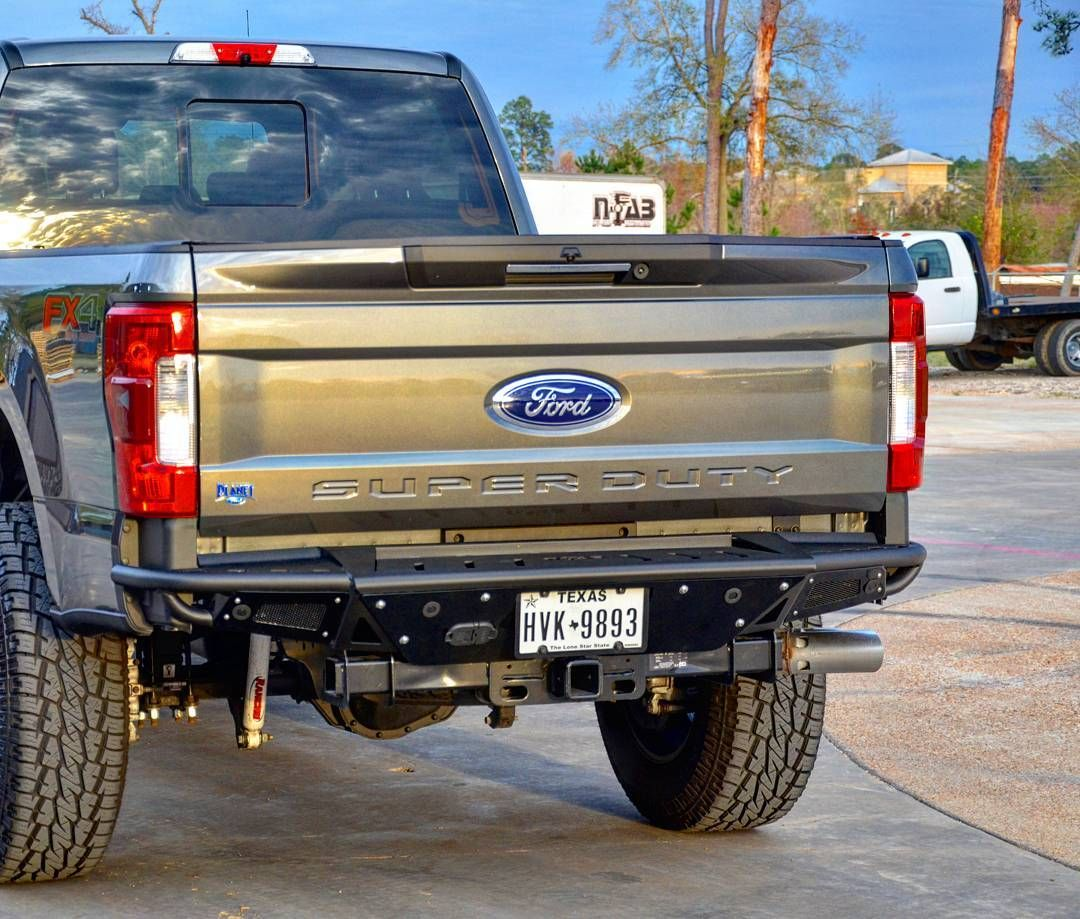 Rbs h rear prerunner bumper for the 2017 ford 250 f35o superduty