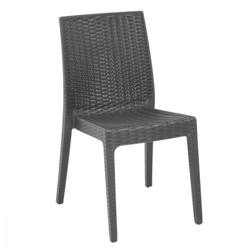Chaise de jardin Sélène - anthracite
