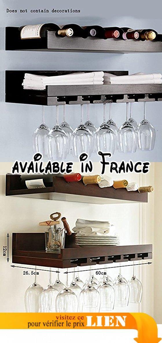 Global- Rétro style bois Racks à vin / Porte-gobelets à vin