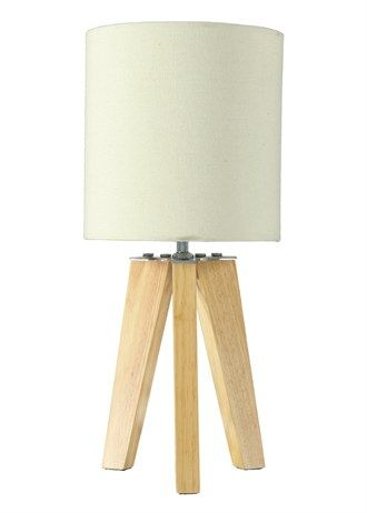 Matalan Wooden Tripod Lamp Tripod Table Lamp Tripod Lamp Lamp