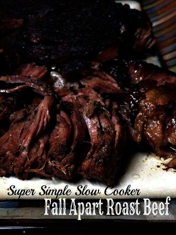 Fall Apart Roast Beef - Birth Eat Love -Super Simple Slow Cooker Fall Apart Roast Beef - Birth Eat
