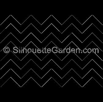 Zig Zag Silhouette Silhouette Clip Art Downloadable Art Clip Art