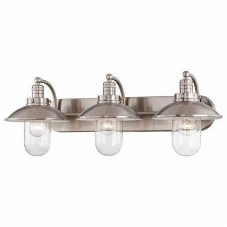 Schooner Bath Light 3 Light Bathroom Vanity Lighting Bath