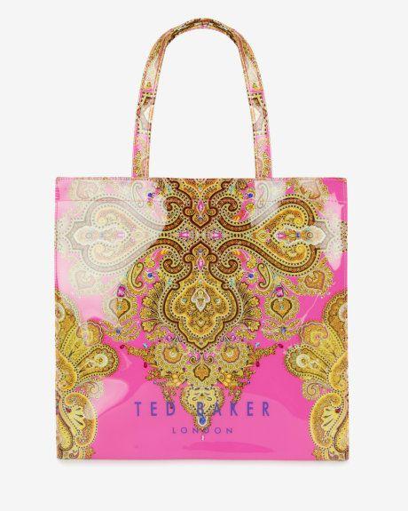 Large Jewel Paisley Per Bright Pink Bags Ted Baker Uk Madampaloozaemporium Facebook Madampalooza