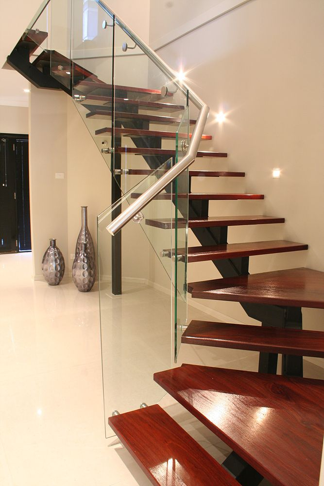 Best Steel Spine Staircase With Images Home Stairs Design 400 x 300