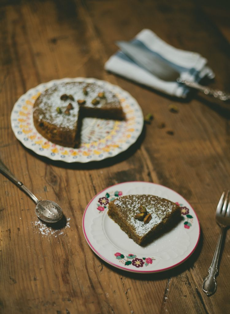 pistachio and almond cake (gluten free and dairy free) | my name is yeh