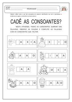 atividades com consoantes - Pesquisa Google