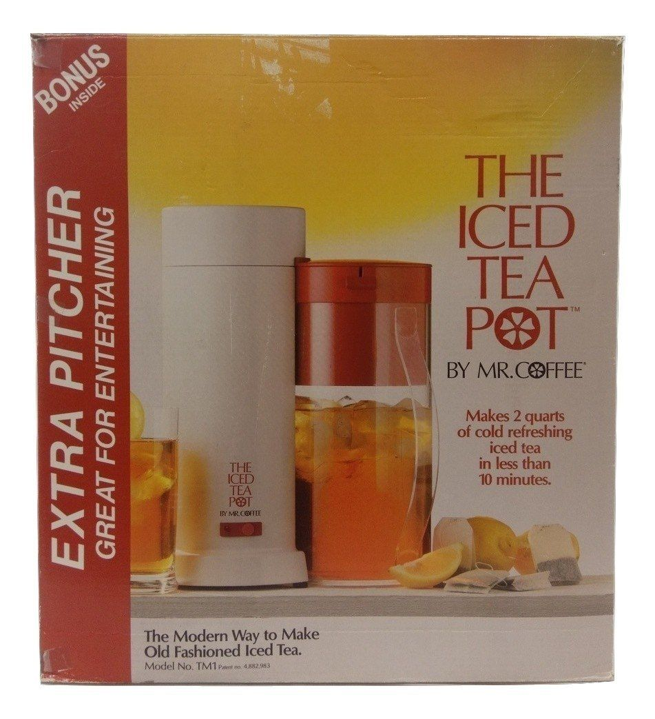 Mr. Coffee 2 Quart Ice Tea Maker With Extra Pitcher