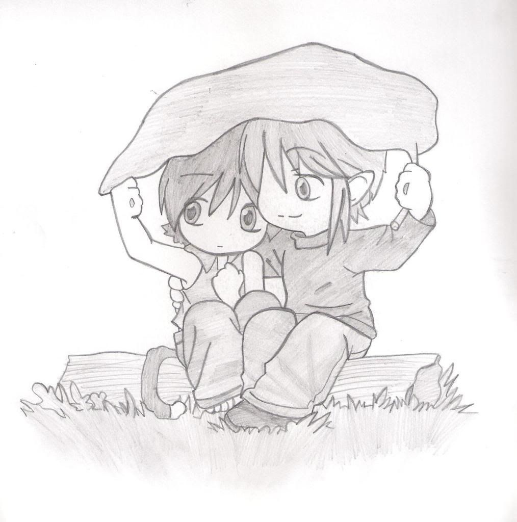 Dibujos De Amor A Lapiz Anime Manga And Drawings